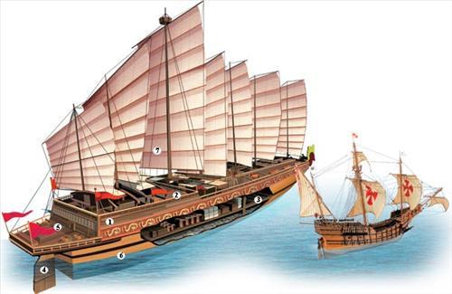 Гигантский корабль китайского флота